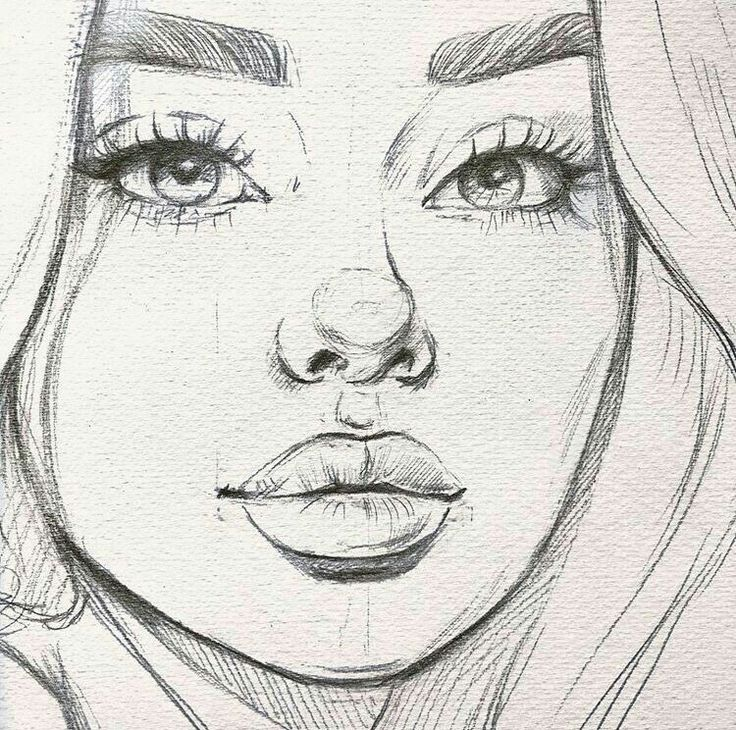 drawings sketches drawing sketch simple easy face faces cool pencil grace mary cartoon pro desene instagram