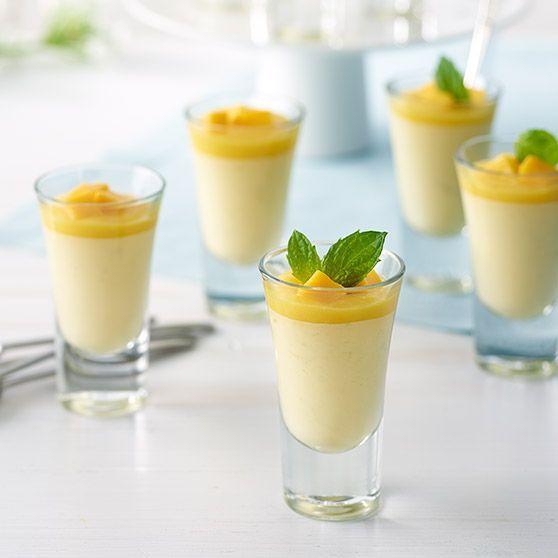 Mangopannacotta - Reseptejä