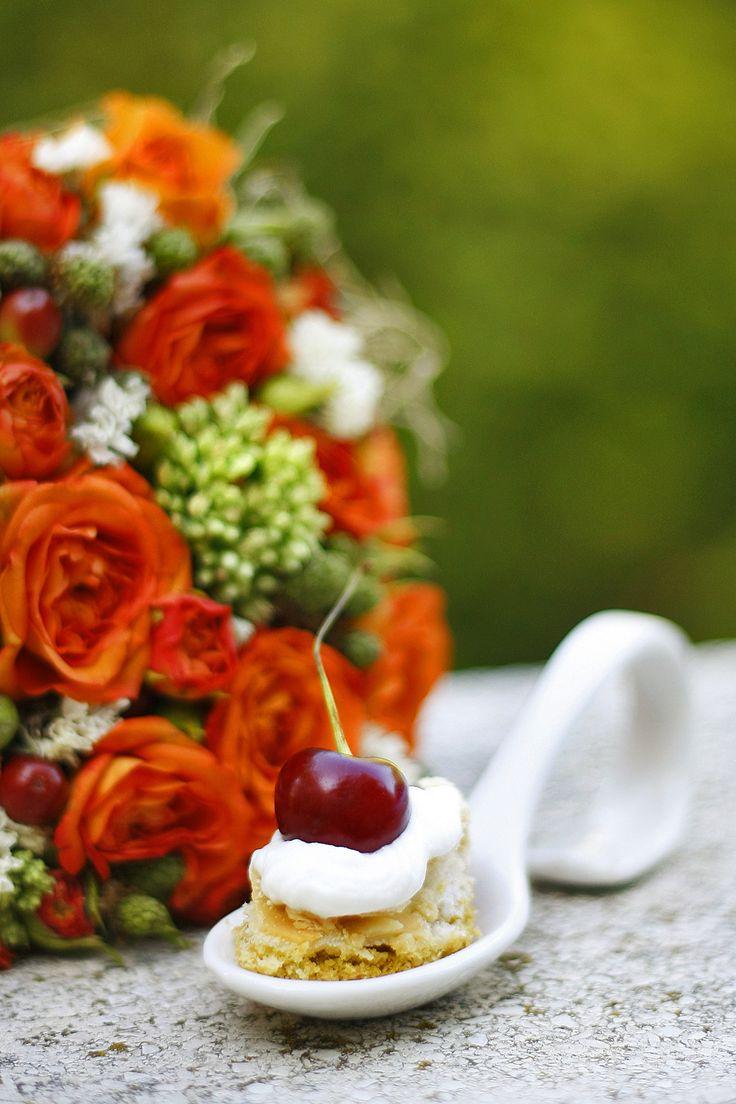 nekedcake cake for party, finger food, wedding, Budapest, sour cherry