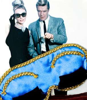 Holly GoLightly sleep mask...too cute!!!