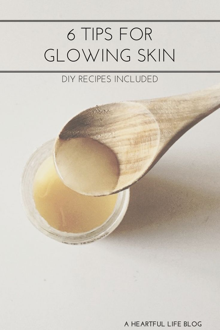 DIY Skin Care | Natural Acne Treatment | How to make your skin glow naturally | Natural Glow || A Heartful Life Blog