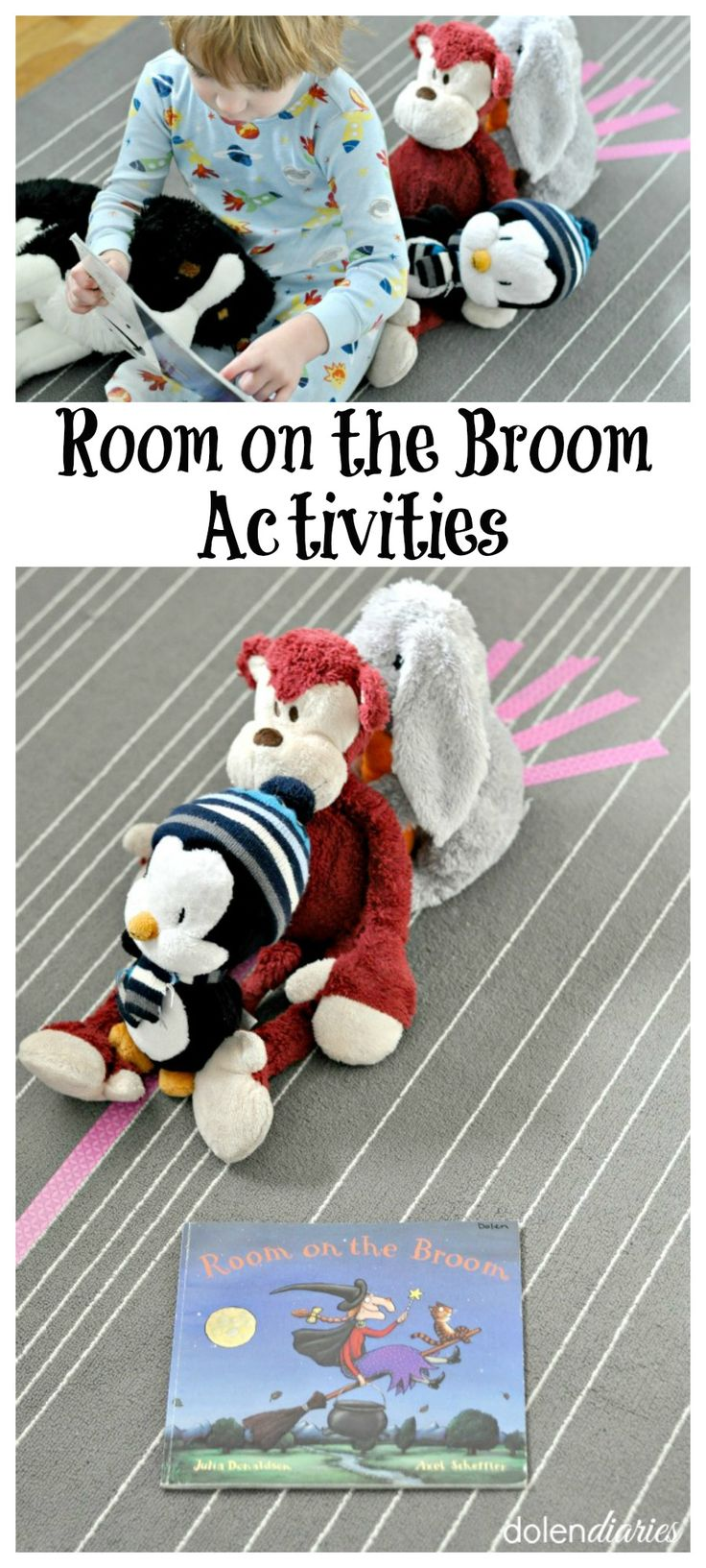 Room on the Broom Activities Cute ideas to extend reading fun! Can be done at home or in a preschool class!