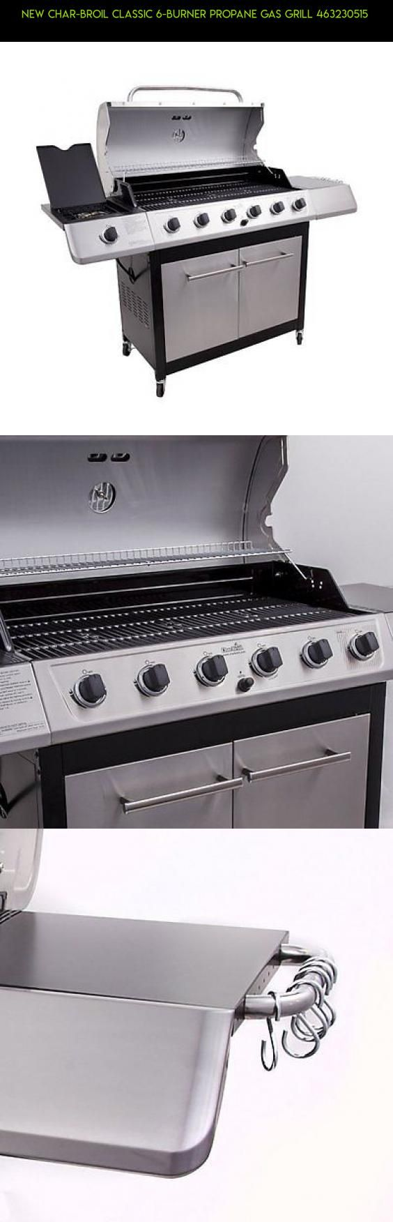 New Char-Broil Classic 6-Burner Propane Gas Grill 463230515  #gadgets #shopping #camera #burner #kit #tech #plans #fpv #technology #products #6 #racing #grills #parts #drone