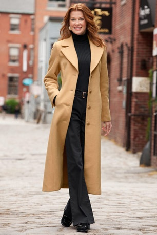 "This is in the UPS truck right now. I've been searching for the perfect camel long coat for over two decades...and I'm almost sure this ain't gonna be ""it.""  It'll probably look cheaper than the $80 bucks I paid for it and be so wrinkled I'll look like a homeless person.  We'll see."