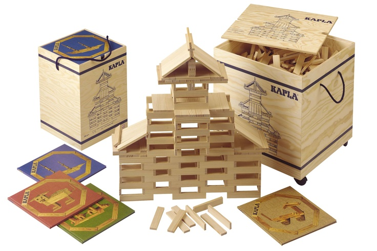 Kapla the best wooden building blocks in the world
