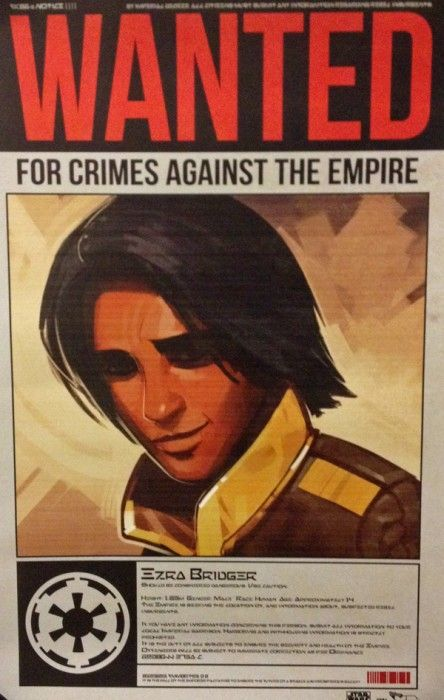 Star Wars Rebels WANTED POSTERS Star Wars Star Wars Rebels Star Wars Star