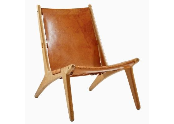 Mid Century Hunting Chair by Uno & Östen Christiansson for Luxus - PAMONO