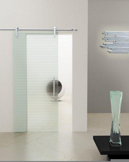 Раздвижные двери для ванной экономят пространство
