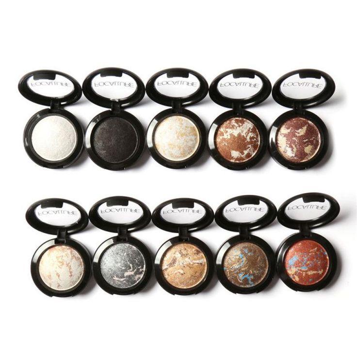 Women 10 Colors Noble Metal Diamond Pear Eyeshadow Makeup Palette Long Lasting Eye Shadow Natural Nude Naked Eyes Cosmetics #623