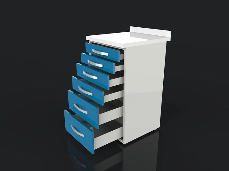 Acrylic Surface Clinic Cabinet Model ACR06