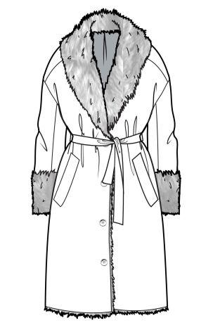 Robe Style Coat