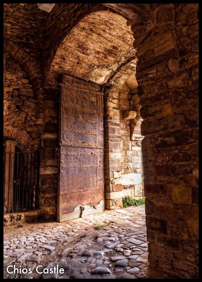 Chios Castle, Greece