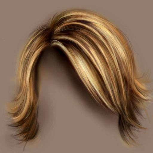 How to paint hair in photoshop