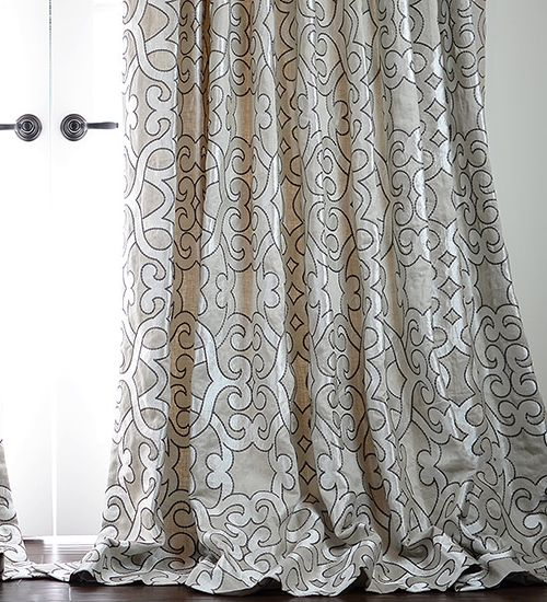 Hand Made Drapery Schumacher Fabrics and Roman Blinds on Sale | DrapeStyle | 800-760-8257