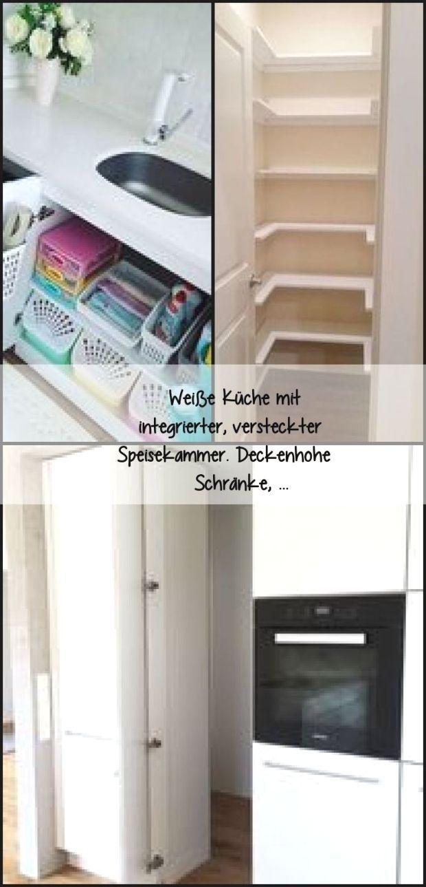 Blick In Die Kuche Mit Ture Zum Abstellraum Loft Wohnung Wohnung Kuche Dekoration Minimalistische Kuche
