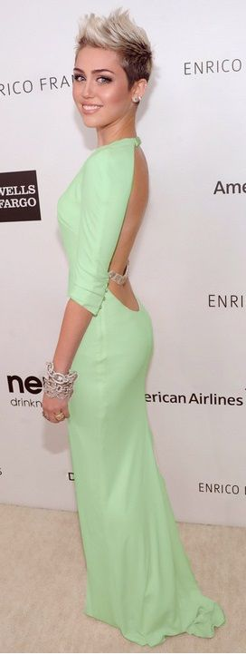 Miley is beautiful in anything she does.