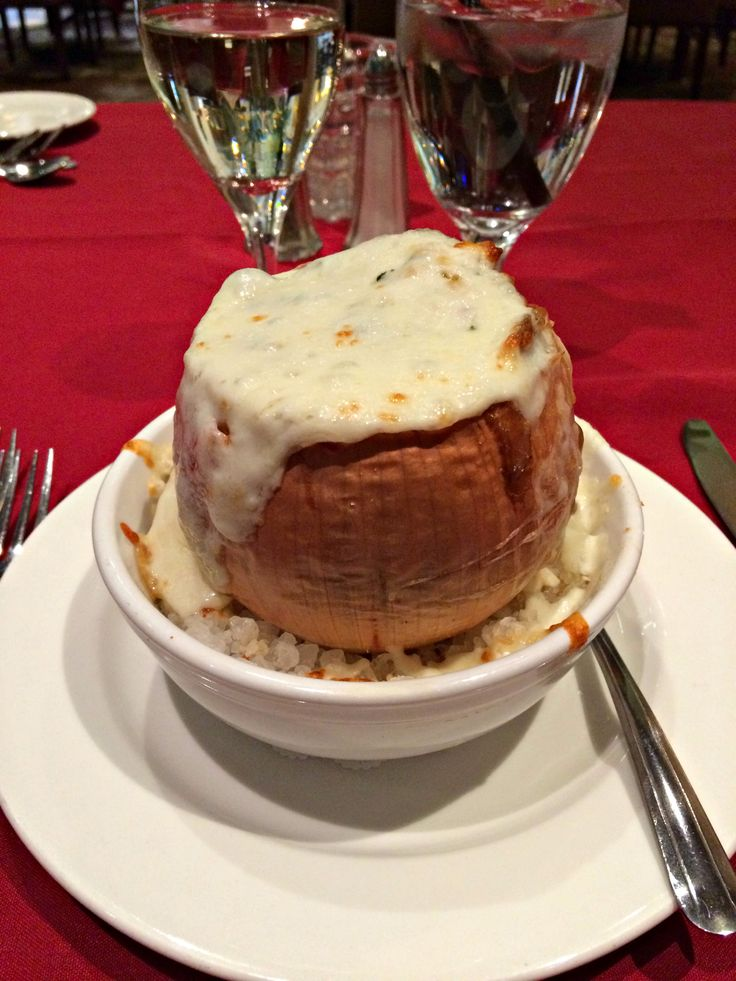 French Onion Soup from Stephen's American Bistro, Salt Lake City Utah