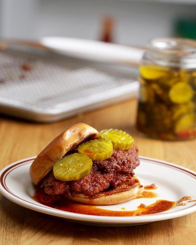 Nashville Hot Chicken As Made By Spike Mendelsohn #TastyStory