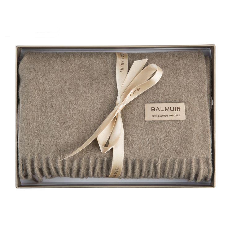 Balmuir Highland cashmere scarf. www.balmuir.com/shop