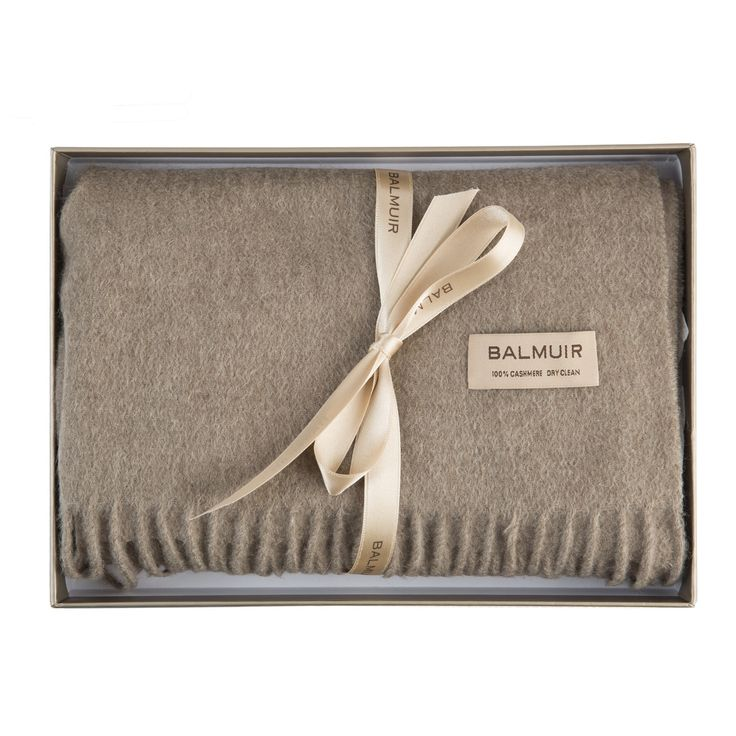 Balmuir Highland cashmere scarf. www.balmuir.com/shop
