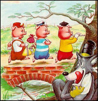 """Ladybird Book """"The Three Little Pigs"""". Lordy this takes me back!"""
