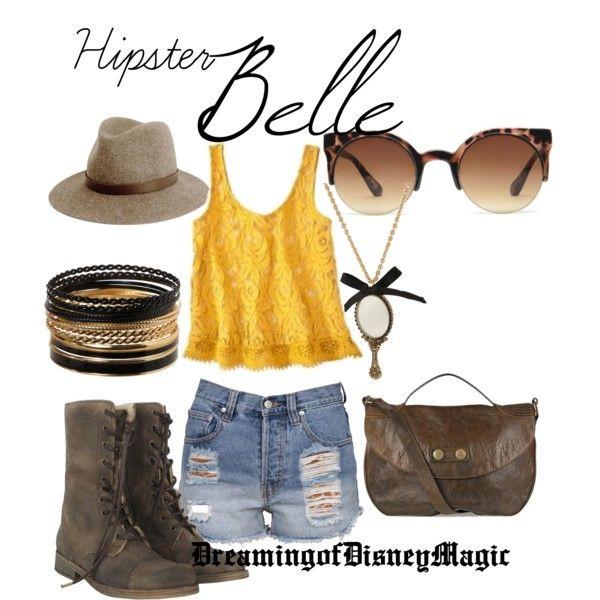 Hipster Belle lol