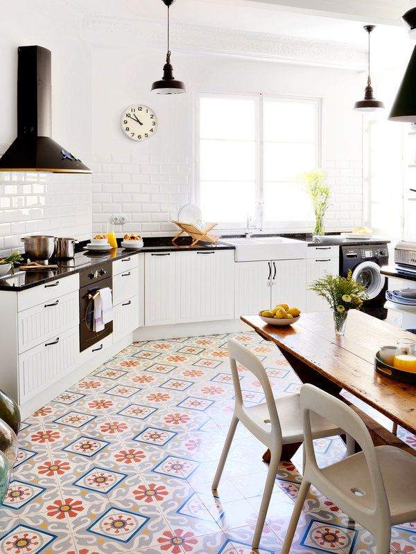 Las 25 mejores ideas sobre piso de baldosas para cocina for Disenos para banos y cocinas