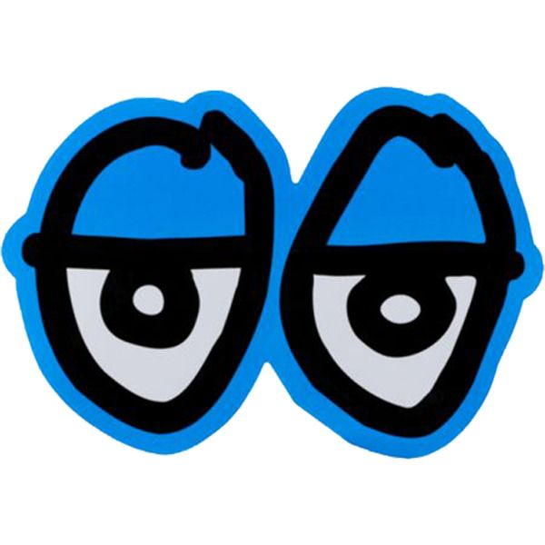 Krooked Skateboards Diecut Eyes Skate Sticker at Warehouse Skateboards! #whskate #skateboarding