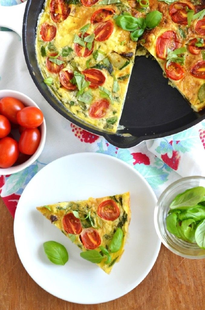 Summer Veggie Frittata - 24 Carrot Kitchen