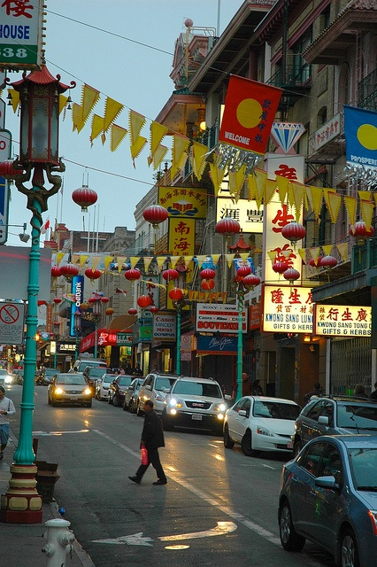 San Francisco Chinatown by marcosborn, via Flickr