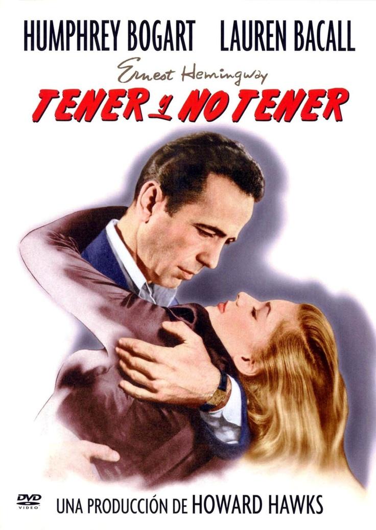 Tener y no tener (1946) EEUU. Dir: Howard Hawks. Cine negro. Suspense. II Guerra Mundial - DVD CINE 105