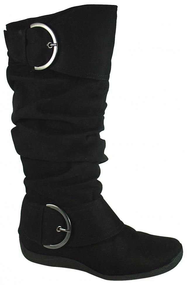 Factory Shoe Online : Womens > Fashion Boots - Taxi Nicole Black MF