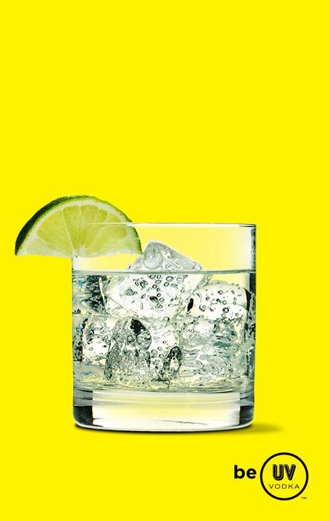 UV Vodka Recipe: Pucker Up  1 part UV Citrus 2 parts tonic  Serve over ice in a lowball glass.