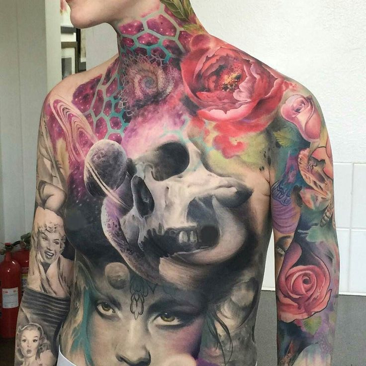 Work in Progress by @sam_ford_tattoos at Silver Needles in Southend-on-Sea, England #samfordtattoos #samanthaford #samford #silverneedles #southend #southendonsea #england #uk #unitedkingdom #skulltattoo #galaxytattoo #spacetattoo #rosetattoo...