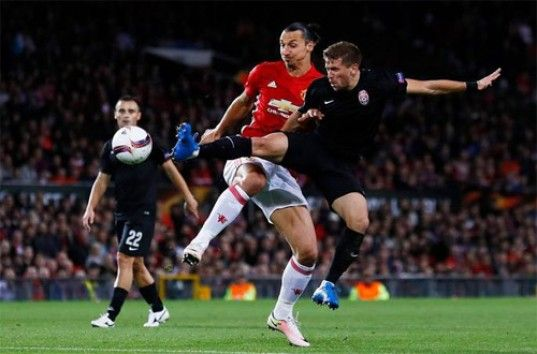 Лига Европы: «Манчестер Юнайтед» – «Заря», обзор матча (ВИДЕО)