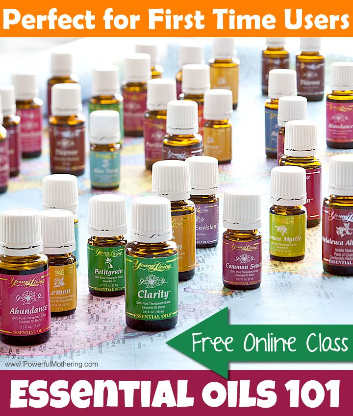 Sign up for this free online essential oil class and get answers to the most basic questions about essential oils. The WHY, WHAT and WHERE. Perfect for beginners.