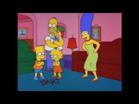 The Simpsons: Bart, Lisa, and Maggie's First Word - YouTube