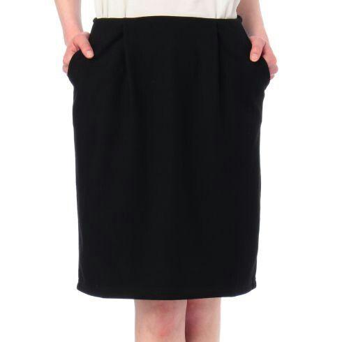 indexで購入の黒スカート