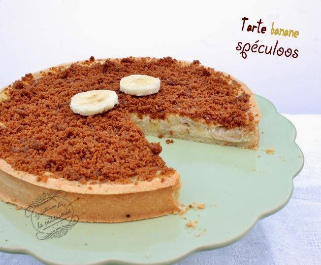 Tarte banane et spéculoos - Il était une fois la pâtisserie... Blog