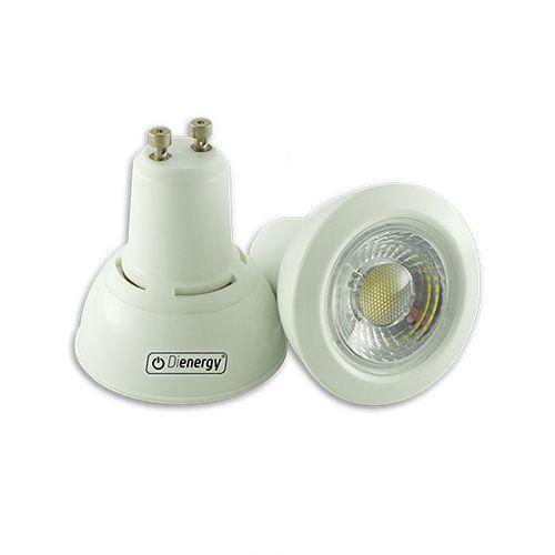7W LED Spot, GU10, 220V, warm white light, 3 years warranty. 7W Spot LED, GU10, 220V, lumina alba calda, 3 ani garantie - 21.59 RON www.dienergyled.ro
