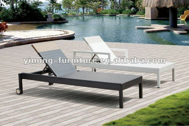 1000 ideas about rattan outdoor furniture on pinterest for Belmont black wicker patio chaise lounge