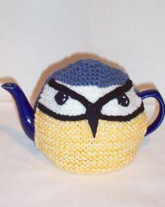 Blue Tit Tea cosies for sale from tea cosy folk
