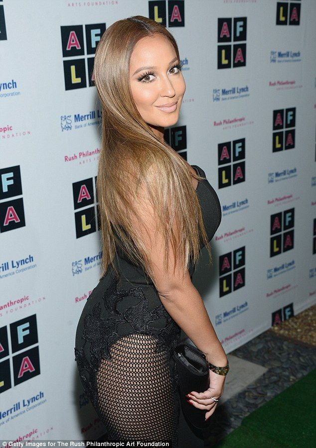 Jump into a Lexi jumpsuit like Adrienne Bailon click visit to buy #DailyMail