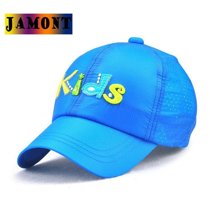 JAMONT Kids Baseball Caps Trend Snapback Parent Child Patchwork Letter Boys And Girls Summer Quick Dry Sun Hat Sunscreen Avoid
