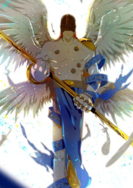 Digimon Dragon's Shadow: Angemon