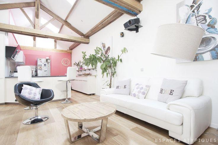 Le-Perreux-Sur-Marne : Dernier étage esprit loft - Agence EA Paris