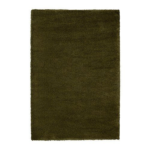 Great ÅDUM Rug, High Pile, Green $199.00