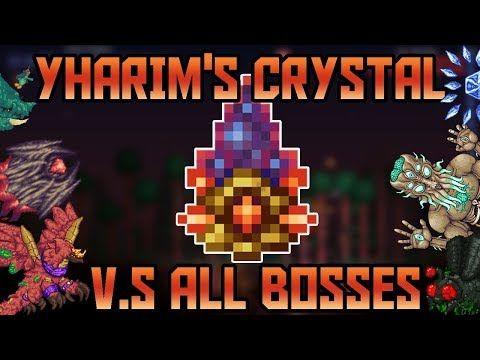 Yharim's Crystal V S (Almost) All Bosses in Revengeance Mode