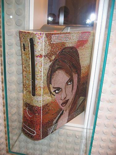 Lara Croft would be proud of this custom Tomb Raider (M) Xbox 360.
