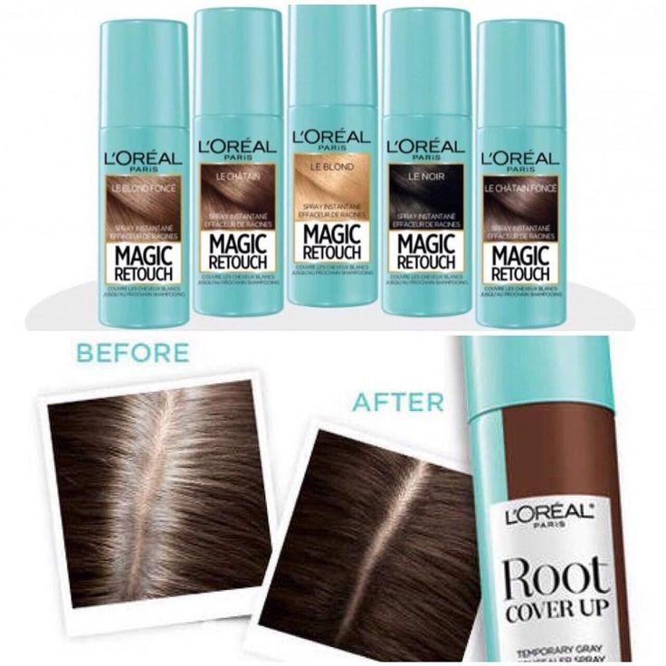 News... News.... 3, 2, 1 Adeus raízes! Chegando no Brasil o Magic Retouch Loreal: o retoque mágico das raízes.  O produto inovador é um spray para retocar as raízes crescidas dos cabelos tingidos, agindo como  um corretivo capilar, estará disponível em 5 tonalidades. O queridinho das americanas para manter o tom das madeixas sempre perfeito. O produto resiste a lavagem e rende até 30 aplicações. #new #hair #modaaz #hairstyle #loreal #hairspray  #lorealparis #lorealhair